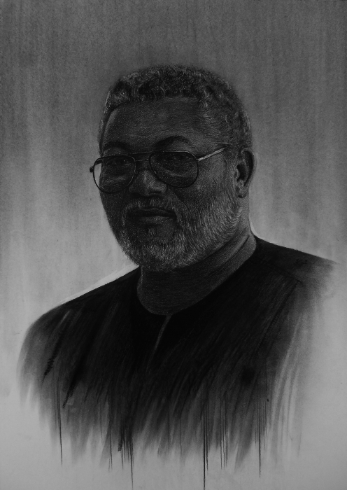 Jerry Rawlings by Kwei-Kofi